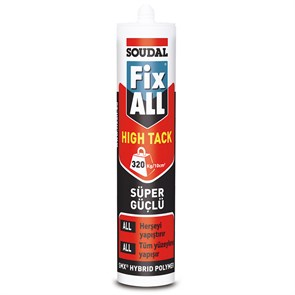Soudal Fix All High Tack Mastik Kartuş 290Ml